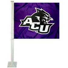Abilene Christian Wildcats Car Auto Window Flag