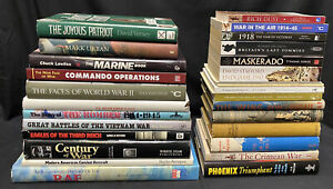 Job Lot Collection Of 30 Military History Reference Biography Books JL18