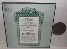 CBS 79204 Mozart The Four Last String Quartets Julliard String Qtet 2LP Box Set