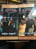 Max Comics Foolkiller Lot Of Two Graphic Novels White Angels Fools Paradise