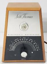 Vintage Seth Thomas Electronic Metronome Model E962-000 Tested Works!