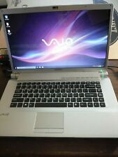 Sony laptop VGN-FW490F 2.53GHZ 4GB RAM DVD/CD 320GB storage