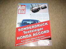Honda Accord Limousine Sonderdruck Auto Bild vom 16.05.2003
