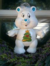 """CUSTOM Made from Vintage 3"""" Poseable Care Bear Poseable CHRISTMAS WISHES"""