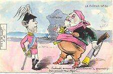 Spanischer König, Sultan v. Marokko , Gibraltar, La Fleche Nr.31,Aufl. 50 Stück