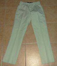 beige-grau Damen Stoff-Hose W26 L30 34-36 Levi's Jeans 7/8 Sommerhose Capri-Hose