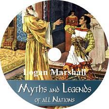 Myths and Legends of All, Logan Marshall Mythology of Man Audiobook on 1 Mp3 Cd