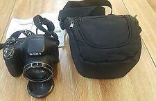 Sony Cyber Shot DSC-H300 20.1MP Digital Camera PRE OWNED W CASE