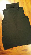 WhiteHouse BlackMarket Black knit Jumper/Tunic szXL BNWOT free post D83
