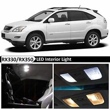 20x White Interior LED Light Package Kit 2004-2009 Lexus RX330 RX350