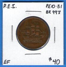 Canada P.E.I. Ships Colonies And Commerce Token Breton 997 PE10-31 - EF