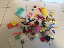 Junk Drawer Lot - 1980s Mini Plastic Toys for Crafters/Artists/Artisans