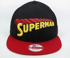 New Era Men's DC Comics Superman Super Hero Font 950 Snapback Cap - Size S/M