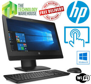 """HP ProOne 400 G3 - 20"""" All In One Touchscreen Computer i5-7500T & Windows 10 Pro"""