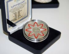Georgia 20 Lari 2015 20th Anniversary Currency Silver Proof TOP Collector Coin!!