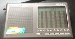 Degen DE1103 DSP Radio Receiver FM / MW AM / SW / LW / SSB World Band Radio