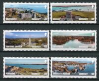 Guernsey 2018 MNH Spectacular Views SEPAC 6v Set Tourism Architecture Stamps