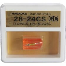 NAGAOKA DIAMOND STYLUS GC 28-24CS FOR NATIONAL EPS-24CS FREE SHIPPING TRACKING
