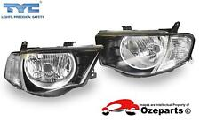 Pair LH+RH Head Light For Mitsubishi Triton Ute ML 06~09 GLS GLX-R VR *Upgrade