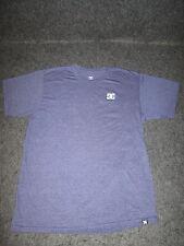 Hombre Auténtico DC Moda Informal skate bmx MX Camiseta S M L XL XXL Lila DC 38
