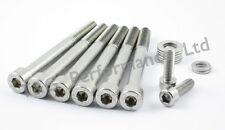 Chevrolet lsx (LS1, LS2, LS6 etc) V8 pompe à eau/thermostat inoxydable boulons kit