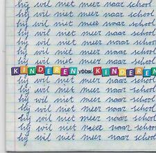 Kinderen Voor Kinderen-Hij Wil niet Meer Naar School cd single