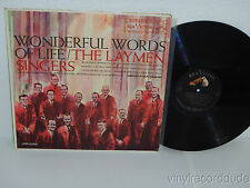 THE LAYMEN SINGERS Wonderful Words Of Life LP RCA Victor LPM 2250 Mono 1S/1S