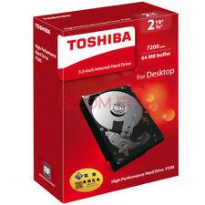 Toshiba 2000gb (2tb) disco rigido interno 8.9cm 7200rpm 64mb Cache 6gb/s