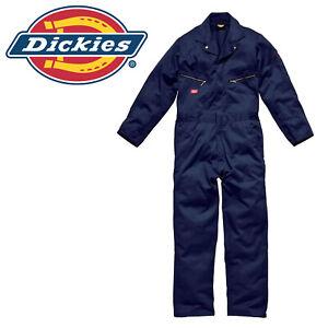 Medium Dickies Workwear Deluxe Coveralls WD4879R Navy Blue Boilersuit