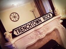 Bob Marley Inspired Trenchtown Rock Music Lyric Vintage Street Sign The Wailers