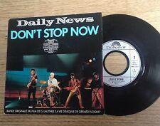 45 tours BOF La vie dissolue de Gérard Floque  Daily News Don't stop now 1987