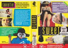 SWEETIE  A FILM BY JANE CAMPION VHS  PAL VIDEO~ A RARE FIND AUSTRALIAN MOVIE