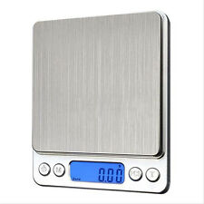 500g x 0.01g Digital Pocket Gram Scale Jewelry Weight Electronic Balance Scale R