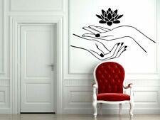 Wall Vinyl Sticker Decals Decor Mural Tattoo Two Human Hands Silhouette #884