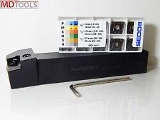10x SECO Wendeplatten CNMM120408-R4,TP3500 + 1x Drehhalter PCLNR 2525 M12 *NEU*