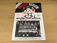 Manchester United v Arsenal Milk Cup Semi Final Football Programme - 23/2/1983