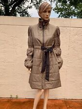 GF GIANFRANCO FERRE PUFFER COAT W/ GATHERED SLEEVES MADE IN ITALY SZ 40