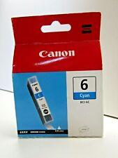 Canon BCI-6C Cyan Printer Cartridge - New