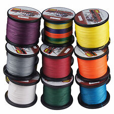 Spider 1000M/1093yds 12 Colors 6LB-100LB Power Dyneema Braided Fishing Line