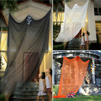 Halloween Scary Ghost Haunted Hanging Skull Witch Curtain Party Outdoor  /*/