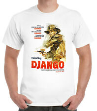 Django German Poster T-Shirt Western Spagetti Cowboy
