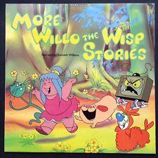 Kenneth Williams MORE WILLO THE WISP STORIES TV cartoon LP 1983 BBC Tony Kinsey