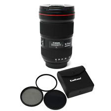 Canon EF 16-35mm f/2.8L III USM + KamKorda Filter Kit 82mm UK NEXT DAY DELIVERY