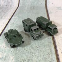 Lesney vintage diecast cars x3 job lot matchbox No. 62 68 67 For Restoration