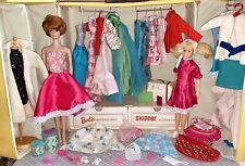 Vintage Barbie & Skipper Case With Dolls & Clothes Lot