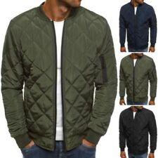 Cappotti e giacche da uomo bomber , harrington cotone cerniera