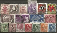 Sale of Australia Stamps - Used Free Shipping