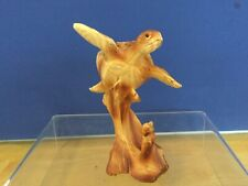 PolyWood Carved  Turtle Tortoise Sculpture Statue, 6 inch Height 4 inches wide