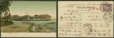 "Panama 1911 view card (Colon)/Japan 1½s/""Warship Mail"""