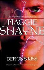DEMON'S KISS ~ MAGGIE SHAYNE ~ PAPERBACK ~ PARANORMAL ROMANCE